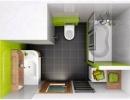 Дизайн маленьких ванних кімнат - вигляд зверху