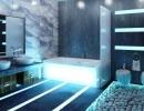 Ванна кімната у стилі Хай-Тек