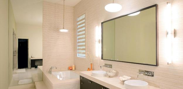 Варіант дизайну ванної кімнати