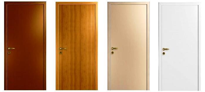 Двері з ПВХ для ванної кімнати