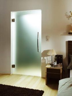 Скляні двері для ванної кімнати