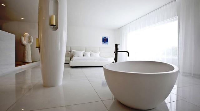 Мармурові ванни