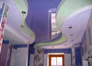 Сучасні види стель та способи їх монтажу у ванній кімнаті