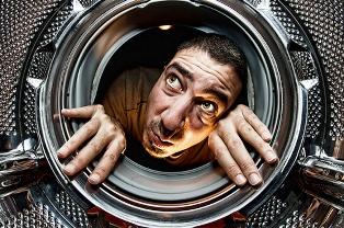 Встановлення пральної машини у ванній