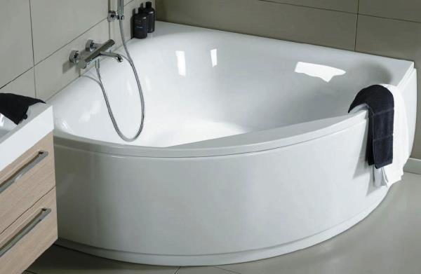 Акрилові ванни можуть бути будь-яких форм, розмірів, кольорів. Вони чудово впишуться у будь-який інтер'єр