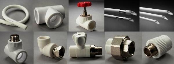 Матеріали, які потрібні для розводки труб у ванній