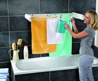 Сушарка для білизни - необхідний атрибут у ванну кімнату