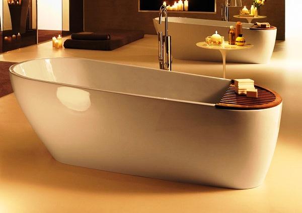Ванни з литого мармуру - дуже стильні