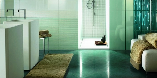 Варіанти кольорових рішень для підлоги у ванній кімнаті