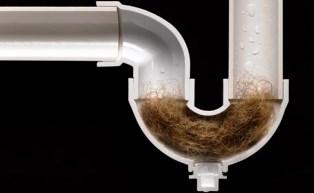 Причиною появи запахів можуть стати і затори, утворені в самих сифонах.
