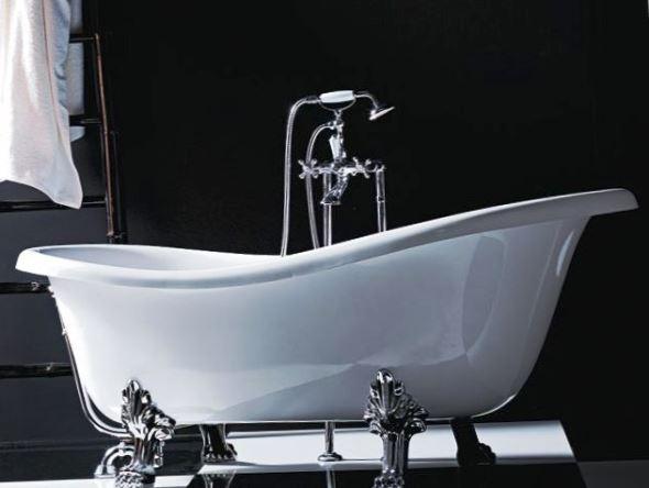 Сучасні чавунні ванни, на відміну від рядянських, можуть бути досить стильними