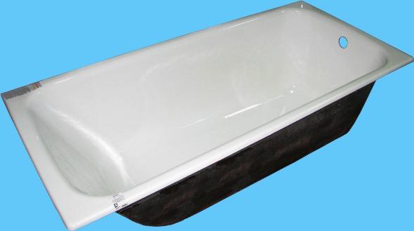 Стандартна, всім добре відома, чавунна ванна
