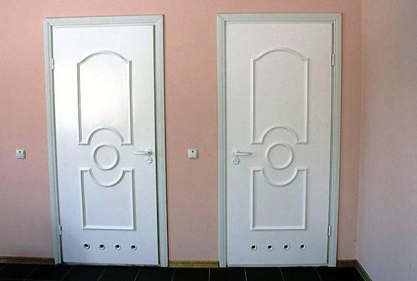 Двері для ванної з ПВХ