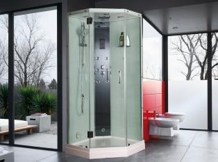 Плюси і мінуси душових кабін