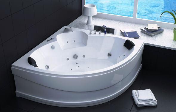 Приклад якісної ванни з гідромасажем від італійського виробника