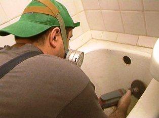 Перед початком реставрації ванни - необхідно її правильно підготовити