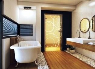 Скляні двері для ванної кімнати: сучасні тенденції