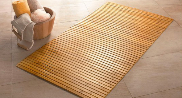 Килимок з бамбуку - зробить приємний масаж Ваших стоп