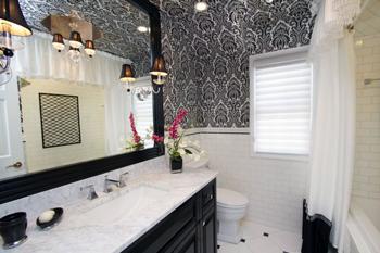 Шпалери для ванної кімнати