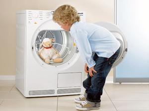 Сушильна машина здатка дбайливо просушити навіть дитячі іграшки