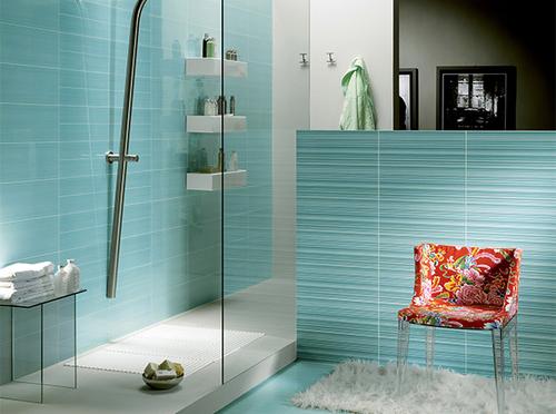 Італійська плитка у інтер'єрі ванної кімнати