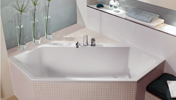 Нестандартна акрилова ванна