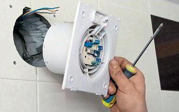 Встановлення вентилятора у ванній кімнаті надзвичайно просте і під силу кожному