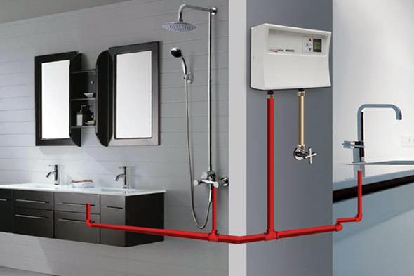 Сучасні проточні електричні водонагрівачі дають змогу комфортно підключати декілька точок водозабору