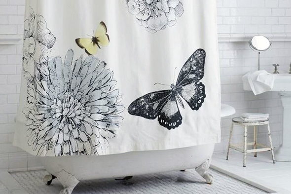 Зараз існує великий вибір різноманітних шторок для ванної, які підкреслять стиль вашої ванної кімнати
