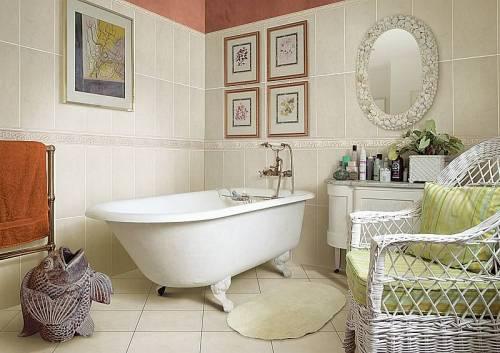 Ванна кімната у стилі Прованс – провінційна витонченність та чарівність