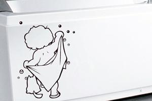 Вінілові наклейки для ванної кімнати – змінюємо інтер'єр приміщення