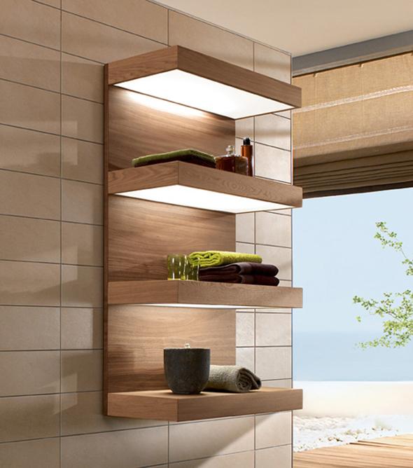 Навісні полиці можуть бути виготовлені з різних матеріалів, що є їх додатковою перевагою