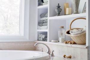 Яку поличку для ванної кімнати вибрати