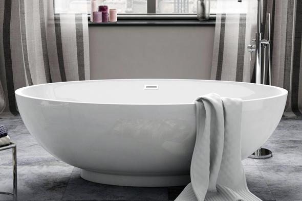 Кругла ванна - це справжня класика, яка асоціюється з часами античності. На багатьох старовинних картинах богині і цариці виходять з круглих купелей.