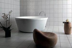 Кругла ванна – невід'ємна деталь шикарного інтер'єру