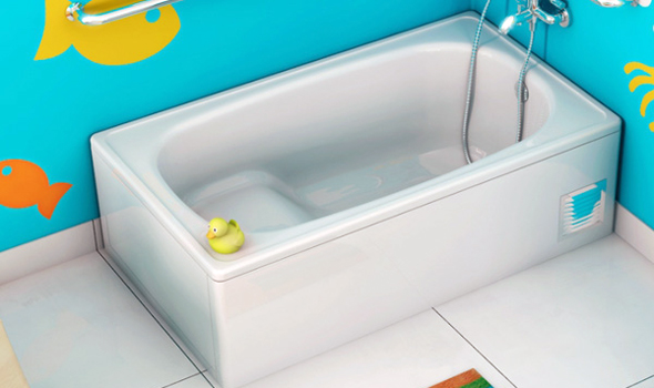 Головно перевагою сидячої ванни є її компактність