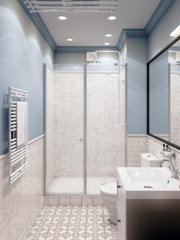 Перед початком ремонту у ванній кімнаті, намалюйте план з рекомендованим розташуванням душової лійки, рушникотримачем, гачків для халатів, полиць з шампунем і гелем для душу та іншого обладнання