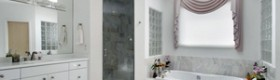 Біла ванна кімната - приголомшливий ефект чистоти (фото)