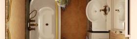 Фото дизайну маленьких ванних кімнат